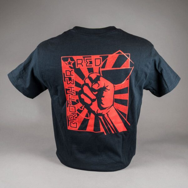 Brother Red T-Shirt Back