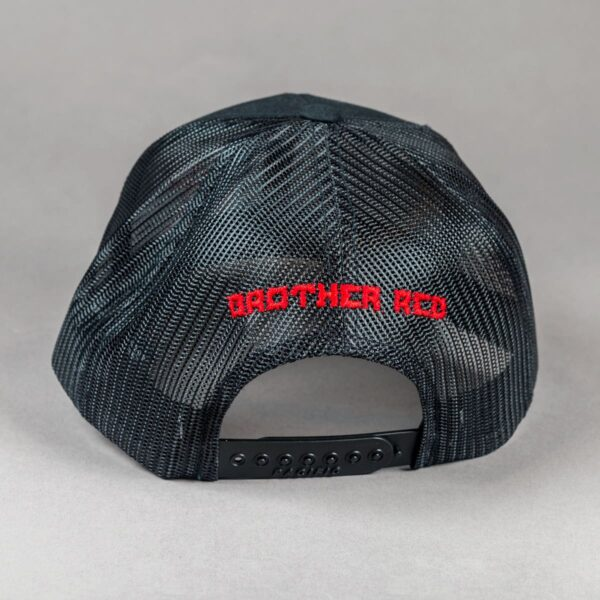 Brother Red Hat Back