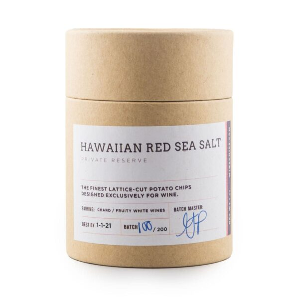 Hawaiian Red Sea Salt Wine Chips