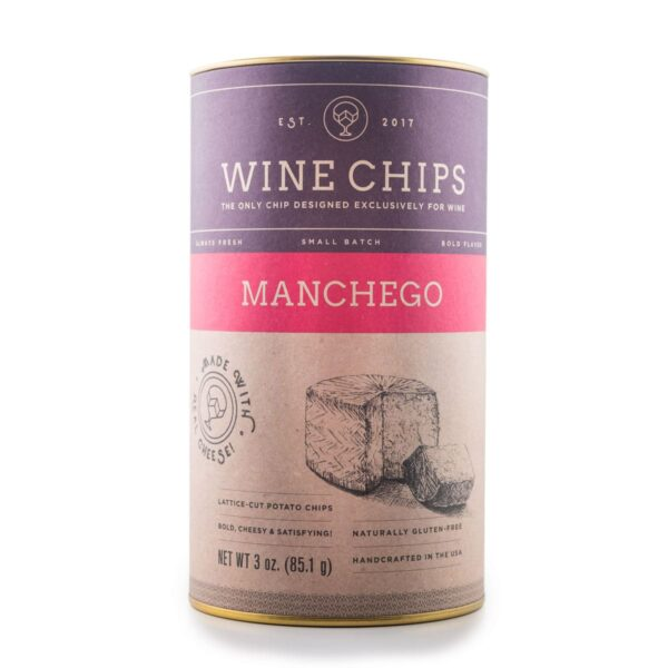 Manchego Wine Chips